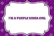 Purple - World / by Gwen Bissette