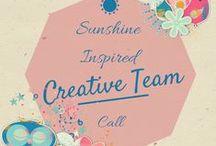 Sunshine Inspired Designs - Creative Call / All Creative Team Call Announcements at Sunshine Inspired Designs  / by Ania Kozlowska-Archer