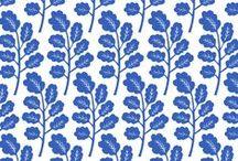 Kiran Ravilious Prints / Hand block printed designs on fabric and paper www.kiranravilious.com / by Kiran Ravilious