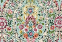 Patterns / Embroidery / Colors / by Gypsy