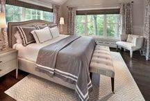 Beautiful Bedrooms / We've heard you spend 1/3 of your life in the bedroom and these pins give you good ideas of how to make your bedroom yours. / by Peppercorn Boulder