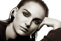 Natalie Portman in black&white / by Julio de Francisco Ortiz