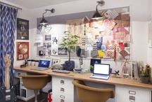 Finding Home Office Inspiration / Because it really needs to be done one of these days... / by Laura Putnam - Finding Home