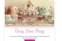 Bird / Owl Party / All things birds or owls for a bird owl birthday party #birdparty #birdbirthday #birdbirthdayparty #owlparty #owlbirthday #owlbirthdayparty / by I Will Invitations