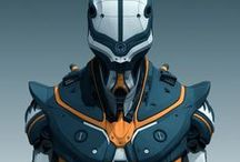 THREED: Armor / by Mark Zamayla