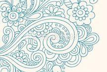 Zentangle - doodles / by Montse Arranz