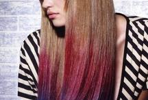 hair chalking / by marley