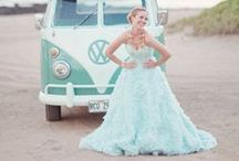 Mint wedding inspiration / by Belle & Chic