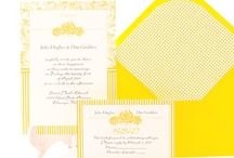 Yellow Wedding Inspiration / by Belle & Chic