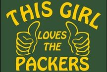 <3 PACKERS <3 / Cheese curd, icy beer and cold as balls football.  What's not to love about the PACK?   / by Shanoni Macaroni