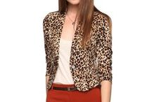 How to Wear My Leopard Jacket / by Ellen Barter Sviatko