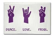 Gettin' Froggy Wit' It / Riff Ram, Bah Zoo... Give 'Em Hell, TCU!! / by Jessica   My Baking Heart
