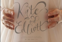 Calligraphy, Type and Words of Wisdom / by Papyrus Design
