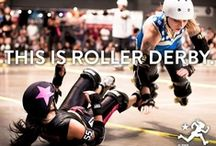 Cuz I'm a Rogue Rollergirl / by Lesley Dellerman
