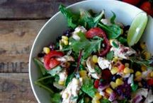 Snazzy Salads / by Jessica   My Baking Heart