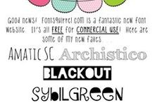 Fonts & things for the Cricut! / by Sonya Parker
