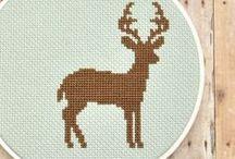 cross stitch / by Jodie Maloni - The Haby Goddess