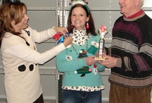 Ugly Christmas Sweater Contest / Colortree Group, Inc. is celebrating our 3nd annual Ugly Christmas Sweater Contest on December 20, 2013.  Please join in our celebration and provide our employees some ideas.  Add a pin! / by Colortree Group