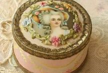 Vintage Cottage Charm + PINK / by Janice Lawson