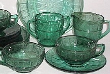 Carnival Glass, Depression Glass, Cut Glass, Milk Glass, Etc. / by Nancy Pate