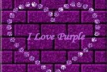 Color Therapy - Purple Passion / My favorite color....Purple is both warm and cool. Purple is royalty. A mysterious color, it is associated with both nobility & spirituality. A purple room can boost ones imagination or an artist's creativity. With a sense of mystic and royal qualities, purple is a color often well liked by very creative or eccentric types.It is the color of the Crown Chakra, also known as the Sahasrara, is located at the top of the head. / by Stephanie Lackey