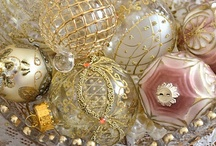 Christmas....Vintage Christmas Ornaments / by Nancy Pate