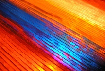 Color Therapy - Blue & Orange / Blue Color Tones with Orange Color Tones / by Stephanie Lackey