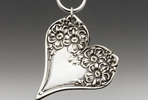 Jewelry - Silverware / by Kay Pucciarelli