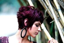 'Hair'apy / FOLLOW MY BOARD!! Funky fresh cuts and color! / by Kelly Dostal