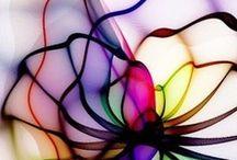 Kaleidoscope, Stained Glass, Mosaic, Patterns,& Color / by Linda Alongi Misnik