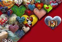 HEARTS / #hearts / by zuzugraphics