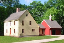 Saltboxes (and other historic style houses) / by Amy Northrop
