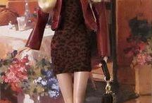 Barbie's Boutique / confección trajes y accesorios; en tela,tejido,y joyería para muñeca. / by Verónica Belicia Segura Klepatzky