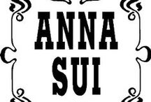 """+ Anna Sui / Anna Sui (born August 4, 1964) is an American fashion designer. Sui is one of the most celebrated names in fashion, known for her ability to transcend eras with historical & culturally inspired collections. She was named one of the """"Top 5 Fashion Icons of the Decade"""" and earned the Lifetime Achievement Award from the Council of Fashion Designers of America. Her worldwide luxury fashion brand includes clothing, shoes, cosmetics, eye-wear, accessories, as well as her line of signature fragrances.  / by The House of Beccaria"""