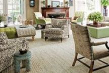 Living Room Inspiration / by Janet Middleton