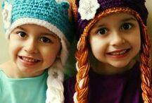 Crocheted Hats / by Rowena Kerr