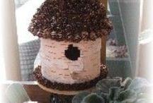 Birds, Birdhouses, Birdcages, Nests & Eggs! - Super Tweet Crafts  / by Cindi Bisson