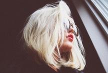 Blondie / Platinum, Bleach, peroxide, powder, bottle blonde / by Identity Crisis