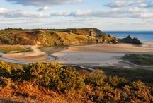 Three Cliffs Bay / by Gower Edge Holidays