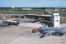 """SGF History / """"There are two kinds of airports: obsolete and those under construction."""" — Lester Jones, SGF's first airport manager, 1947-1969  / by Springfield-Branson National Airport"""