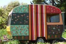 Caravan / Glam Camping! / by A Whimsical Girl Named Debbie