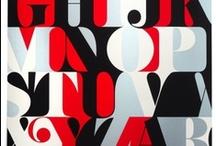 Type Posters / by Amanda Brennan