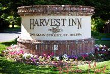 Harvest Inn  / NVCE Events at Harvest Inn / by Napa Valley Custom Events ~ Sharon Burns