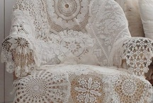 old linens and lace / by Marla McKinney