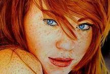 inspiring art ideas / by Wendy Burton