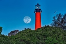 Lighthouses / I love the ocean and boats so it is only fitting that I love lighthouses. / by Chris Fagin