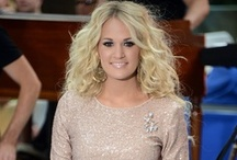 Fashionista / Carrie Underwood = Classy; Stylish; Best hair, makeup, skin, workout, style / by Kristina Hunt