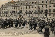 1914 Toulouse mobilisée / Les Archives et la Bibliothèque de la ville de Toulouse commémorent la Grande Guerre en 2014 par des expositions, des publications et une table-ronde. / by Ville de Toulouse
