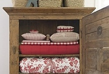 storage ideas / by Sherrie Phillips