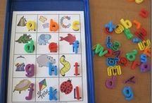 Language Arts-Alphabet Ideas / by Mary-beth Nickerson
